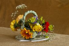 Free Flower, Flower Arranging, Yellow, Floristry Stock Photos - 114790493
