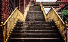 Free Stairs, Wood, Handrail, Building Royalty Free Stock Photo - 114791455