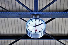 Free Blue, Clock, Structure, Wheel Stock Photos - 114791493