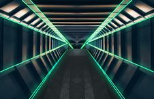 Free Green, Infrastructure, Light, Symmetry Royalty Free Stock Photos - 114791718