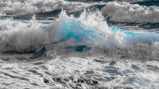 Free Wave, Sea, Wind Wave, Water Stock Image - 114791811