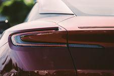 Free Red Aston Martin DB11 Rear Light Royalty Free Stock Image - 114825546