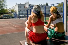 Free Sports, Fun, Girl, Muscle Stock Photo - 114866940