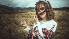 Free Photo Of Woman Sniffing Hair Royalty Free Stock Photo - 114892545