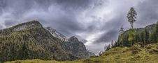Free Landscape Photography Of Mountains Under Gray Cloudy Sky Royalty Free Stock Photos - 114892598