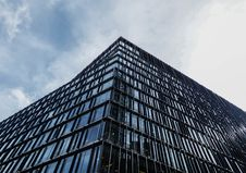 Free Worm S Eye-view Of Black Glass Building Royalty Free Stock Photos - 114892628