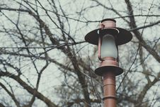 Free Turned Of Post Light Royalty Free Stock Photo - 114892645