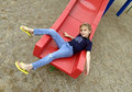 Free On The Slide Royalty Free Stock Photo - 1156835