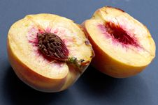 Free Ripe Juicy Fleshy Peaches Stock Photos - 1150763