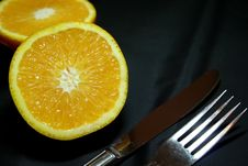 Free Orange In Breakfast Stock Images - 1151914