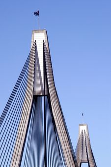 Free Anzac Bridge Stock Image - 1152501