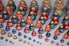 Free Russian Doll (2) Royalty Free Stock Photo - 1153035