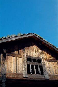 Free Old Norwegian House Royalty Free Stock Images - 1154059