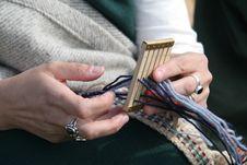 Free Roman Lady Knitting Royalty Free Stock Photo - 1154505