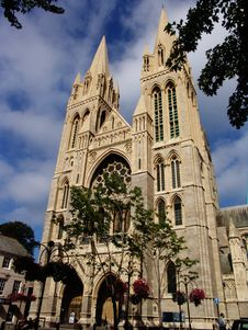 Free Front  Of Truro Cathedral Royalty Free Stock Image - 1154606