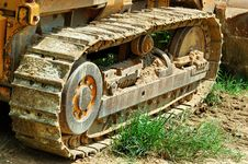 Free Bulldozer Royalty Free Stock Photo - 1155295