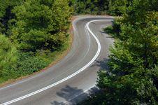 Free Mountain Road Royalty Free Stock Photos - 1155558