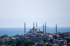 Free Blue Mosque Royalty Free Stock Photo - 1155735