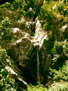 Free Fresh Waterfall Stock Photography - 1155902