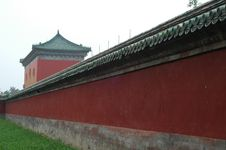 Free Forbidden City, Exterior Wall Royalty Free Stock Images - 1155949