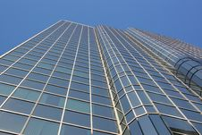 Office Tower With Blue Sky Royalty Free Stock Photo