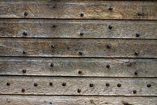 Ancient Door Stock Photo
