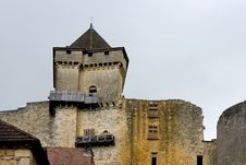 Free Castle Of Castelnaud, France Royalty Free Stock Photo - 1157205