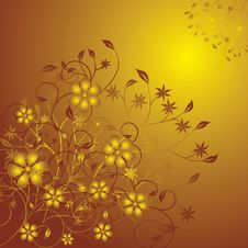 Free Floral Background, Vector Royalty Free Stock Photography - 1157517