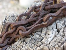 Free Rotten Chain Royalty Free Stock Images - 1158929
