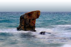 Free Rock And Sea Stock Image - 1158971