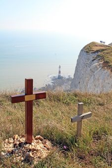 Free Beachy Head England - Suicide Capital Of Europe Stock Photo - 1159140