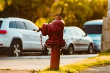 Free Photography Of Red Fire Hydrant Royalty Free Stock Photography - 115111147