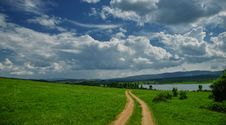 Free Incredibly Beautiful Nature.Sun,lake.Landscape, Panorama Of Beautiful Green Nature. Sky.Amazing Colorful Clouds. Stock Photo - 115183220