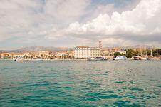 Free Panorama Of Split Stock Image - 11527001