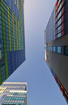 Free Photograph Of Sky High Buildings Stock Photo - 115269220