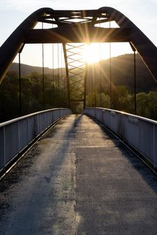 Free Bridge, Road, Infrastructure, Reflection Royalty Free Stock Image - 115286566