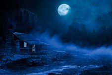 Free Nature, Sky, Atmosphere, Moonlight Stock Photography - 115287232