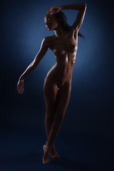 Free Standing, Shoulder, Art Model, Model Stock Photo - 115287330
