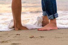 Free Foot, Leg, Beach, Sand Royalty Free Stock Photography - 115287417