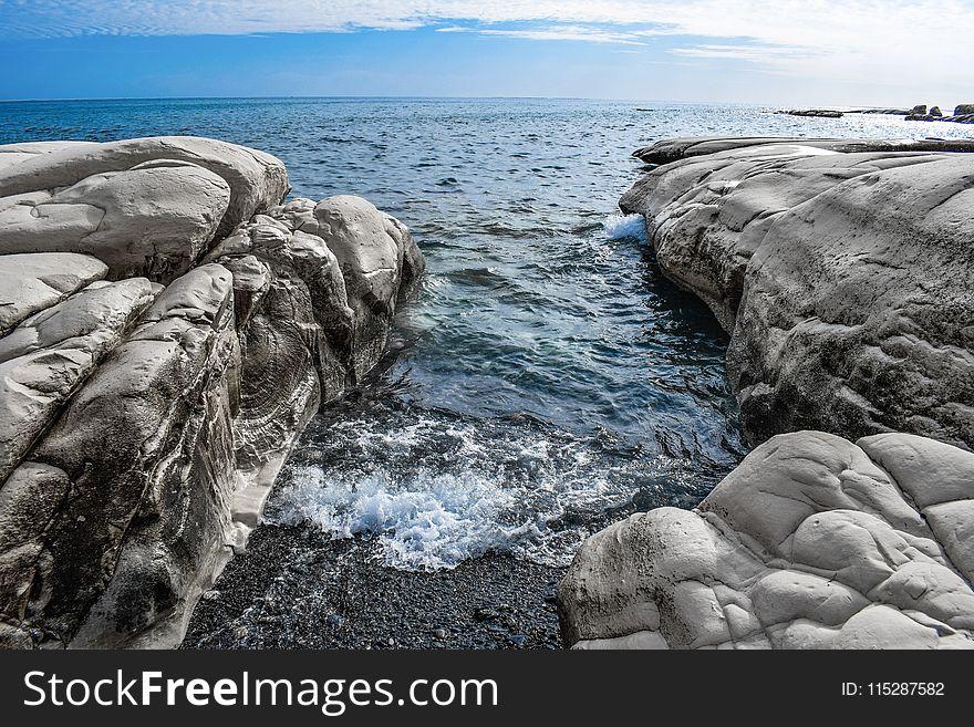 Sea, Water, Body Of Water, Rock