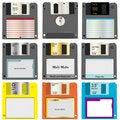 Free Floppy Discs Royalty Free Stock Photos - 11536958