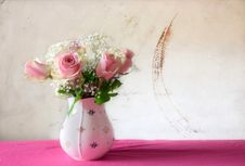 Free Flower, Pink, Vase, Cut Flowers Stock Photos - 115316453