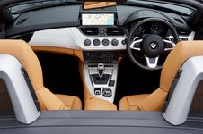 Free Black, Brown, And Gray Bmw Car Interior View Royalty Free Stock Image - 115423326