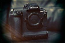 Free Black Nikon Dslr Camera Body Royalty Free Stock Image - 115423416
