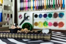Free Selective Focus Photo Of Assorted School Supplies Royalty Free Stock Image - 115423456