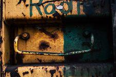 Free Abandoned, Art, Corrosion Stock Image - 115423761