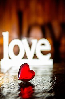 Free Closeup Photo Of Red Heart-shaped Figure Stock Photo - 115483570