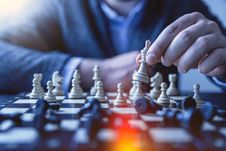 Free Person S Playing Chess Royalty Free Stock Photos - 115483698