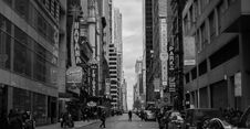 Free Grayscale Photo Of New York Timesquare Royalty Free Stock Photo - 115550115