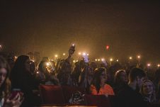 Free Photo Of People Holding Smartphones With Flashlight Stock Photography - 115550442